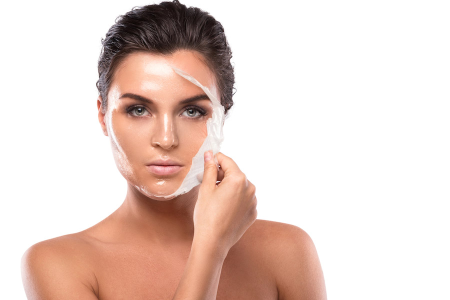 Facial peelings